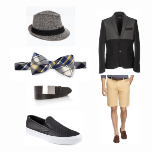 Dressing for the Favorite: Shared Belief, Gents Look No. 2